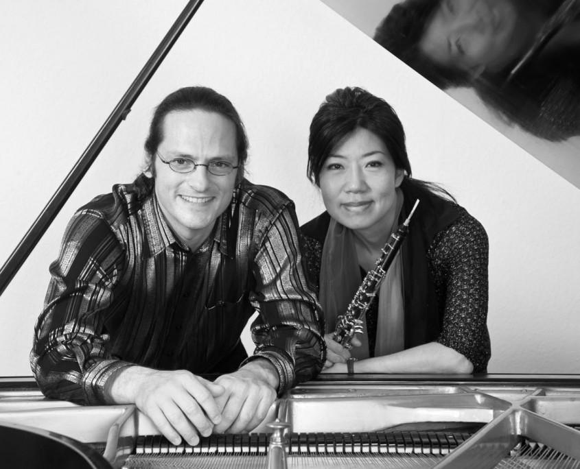Air und Flair, Tobias Forster (Klavier) und Yeon-Hee Kwak (Oboe)