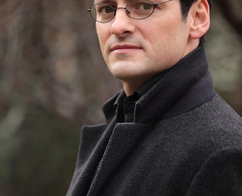 Pianist Tobias Forster, Porträt Pressefoto Hochformat